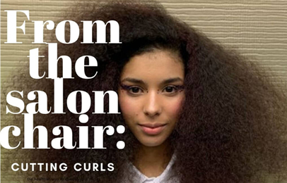 From The Salon Chair | Cutting Curls