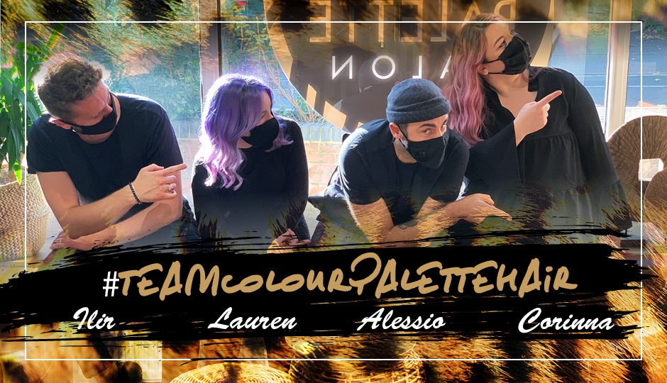 A Clients' Journey With #TeamColourPaletteHair
