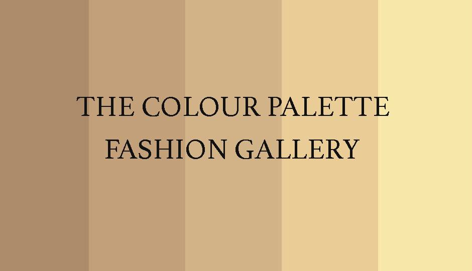 The Colour Palette Fashion Gallery - Edition 4