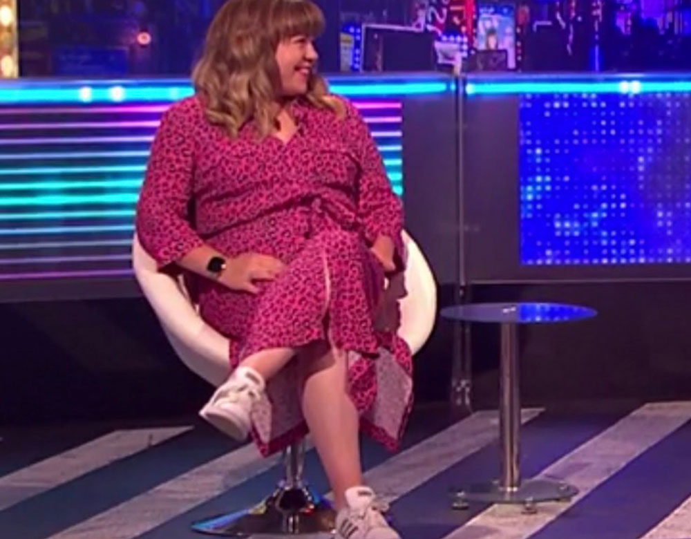 Featured in: Channel 4's The Last Leg