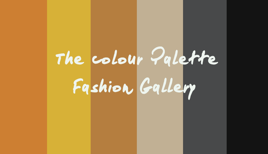 The Colour Palette Fashion Gallery - Edition 13