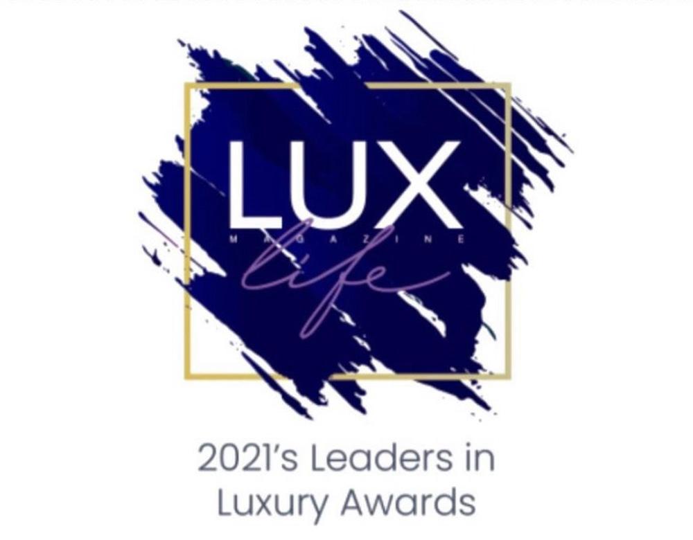 Winners in LUXlife Magazine's 2021's Leader in Luxury Awards